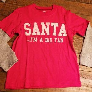 Carters christmas shirt